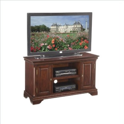 Buy Low Price Home Styles 5537-09 Lafayette TV Stand, Cherry Finish (5537-09)
