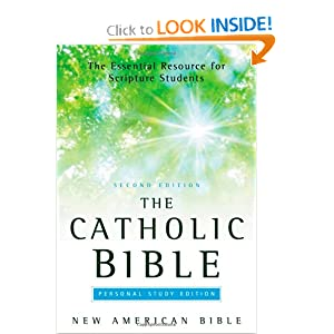 Amazon.com: The Catholic Bible, Personal Study Edition: New American Bible (9780195289268): Jean ...