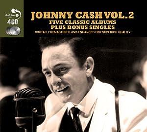 5 Classic Albums Plus Bonus Singles [Audio CD] Johnny Cash by Johnny Cash: Amazon.co.uk: Music