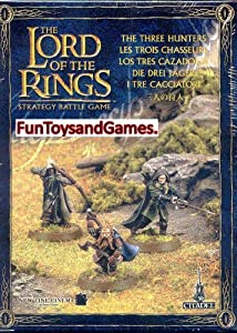 Games Workshop The Lord Of The Rings The Three Hunters: Amazon.co.uk: Toys & Games