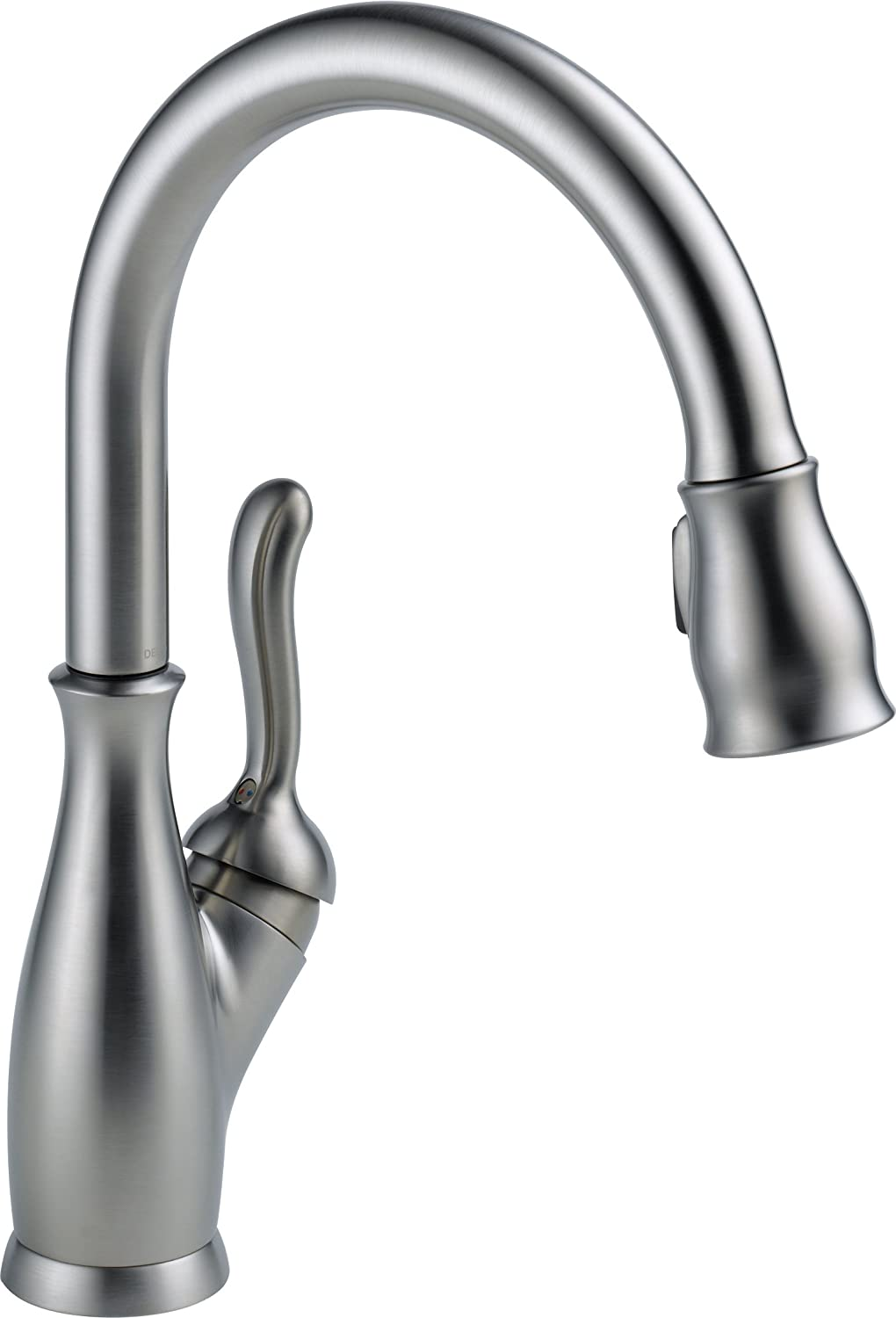 delta leland touch kitchen faucet t touch kitchen faucet Delta Faucet T AR DST Leland with Touch2O Arctic Stainless
