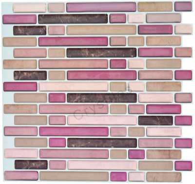 Crystiles Peel and Stick Self-Adhesive Vinyl Wall Tiles Item# 91010816 10