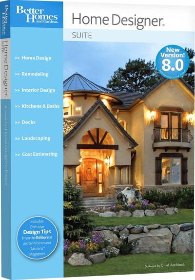 Better Homes and Gardens Home Designer Suite 8.0 [OLD VERSION] - OyDeals