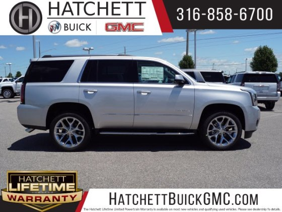 New 2018 GMC Yukon Denali SUV in Wichita  T218447   Hatchett Hyundai     New 2018 GMC Yukon Denali