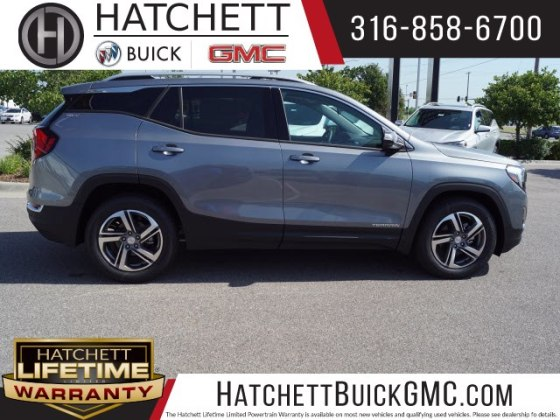 New 2018 GMC Terrain SLT SUV in Wichita  T218431   Hatchett Hyundai     New 2018 GMC Terrain SLT