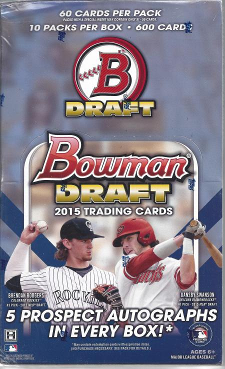 Bowman Chrome 2016 Box