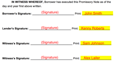 Free Loan Agreement Templates - PDF   Word   eForms – Free Fillable Forms