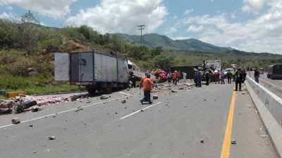 Accidente de tránsito en vía de Guaduas, Cundinamarca, deja 9 víctimas