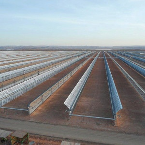 Burners for solar power plant Nooro 1 |industrial burners | Ouarzazate Morocco | E&M Combustion