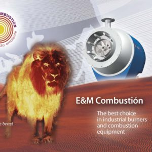 Industrial Burners Corporate brochure | energy efficiency | E&M Combustion