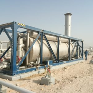 ATEX Burner by E&M Combustion in Al-Jahra oilfield, Kuwait