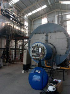 Combustion equipment in a food packaging paper plant | Burner | E & M Combustion