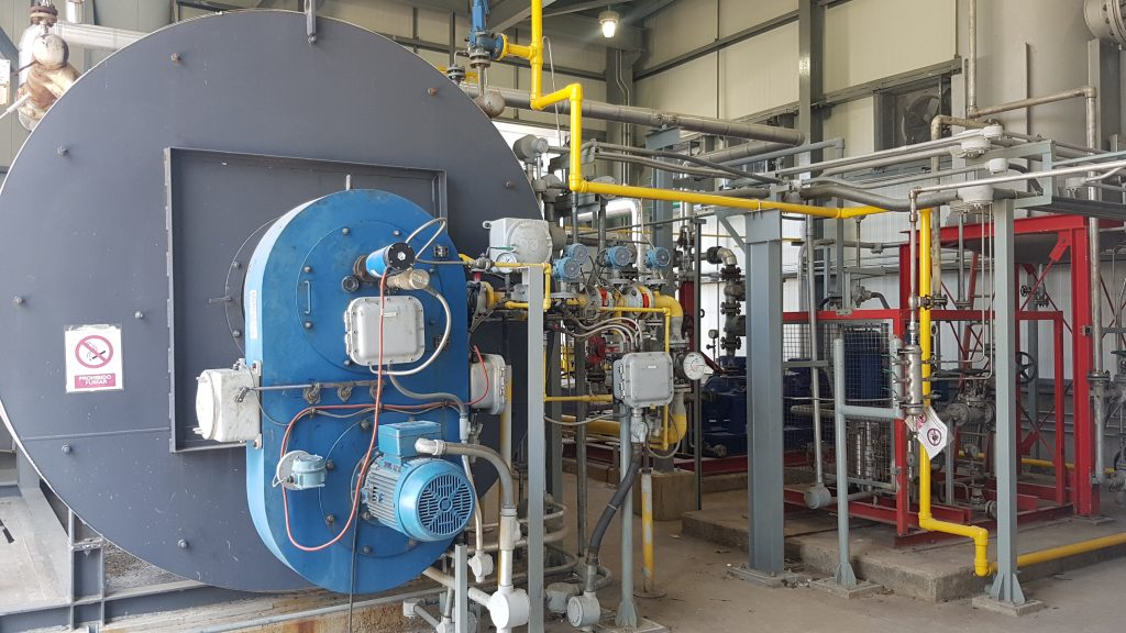 NEC Industrial Burners in cogeneration plant | E&M Combustion