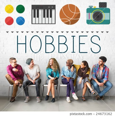 Hobbies Leisure Lifestyle Pastime Fun Concept - Stock ...