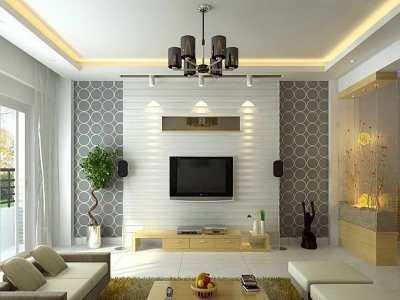 Modern Wallpaper Living Room 16 Picture - EnhancedHomes.org