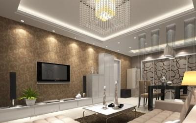 Wallpaper Borders For Living Room 27 Design Ideas - EnhancedHomes.org