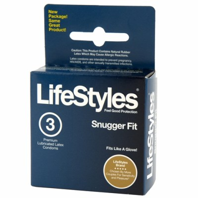 Lifestyles Snugger Fit Condoms - 3