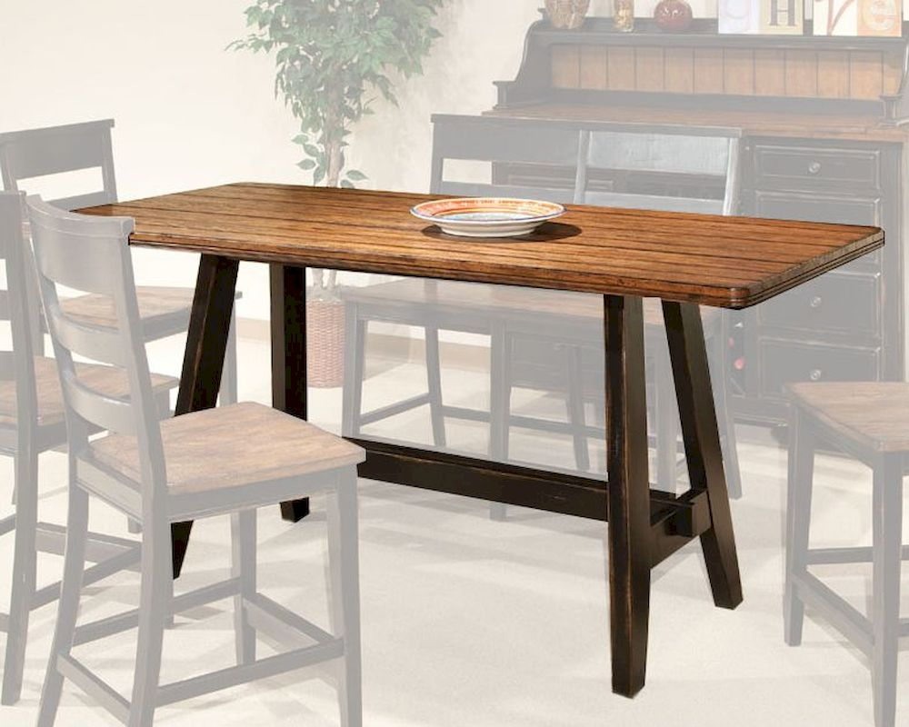 intercon counter height dining table winchester in wn ta 3678g bhn tab 20