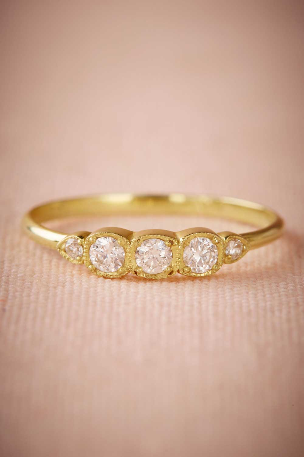bhldn launches new collection engagement rings wedding bands affordable wedding rings BHLDN