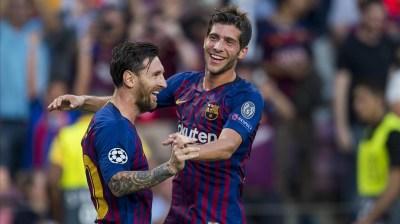 Resumen FC Barcelona - PSV Eindhoven (4-0)   Champions League