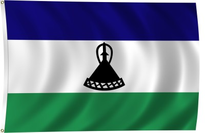 Flag of Lesotho, 2011 | ClipPix ETC: Educational Photos for Students and Teachers