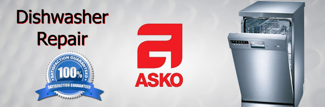 Asko Dishwasher Repair Pasadena Authorized Service