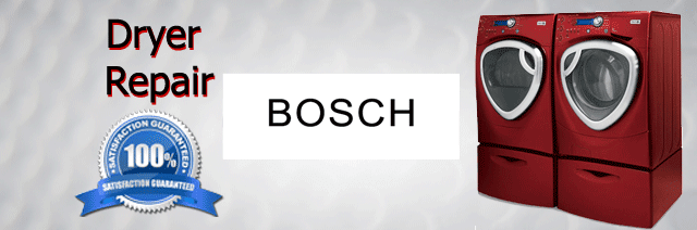 Bosch Dryer Repair Pasadena Authorized Service