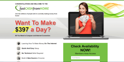 Is Fast Cash From Home A Scam? - Extra Paycheck Online