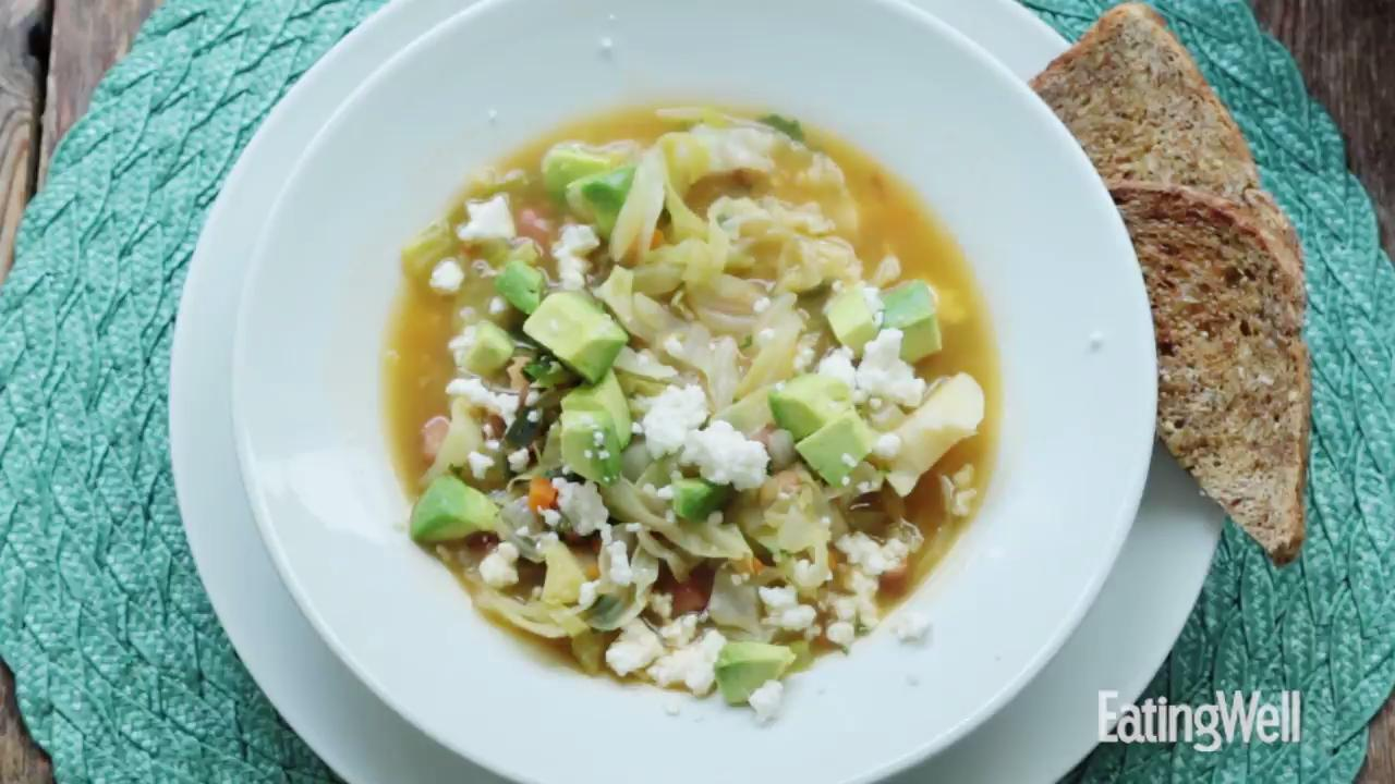 Mexican Cabbage Soup Recipe - EatingWell