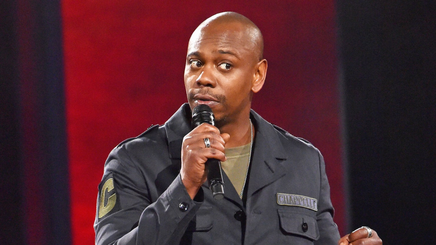 Comedian Dave Chappelle Defends Fellow Comedy Legend Louis C K  Image Source  The Daily Beast
