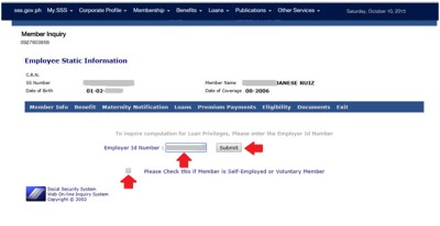 How to check SSS Loan Eligibility online