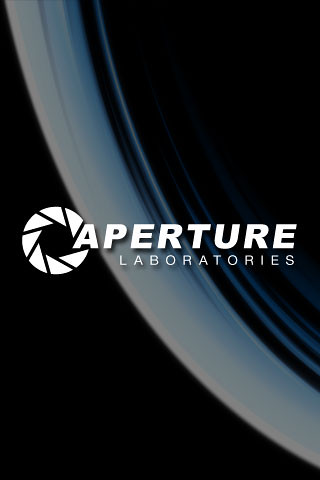 Aperture Science | iPhone Wallpaper | By: Larry Tomlinson | Flickr - Photo Sharing!