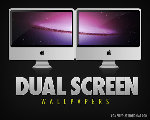 70+ Beautiful Dual Monitors Desktop Wallpapers - Hongkiat