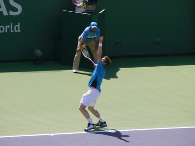 Andy Murray serving | Flickr - Photo Sharing!