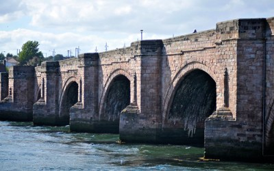 Stuart's Photography - » Desktop Wallpaper: Old Bridge, Berwick upon Tweed