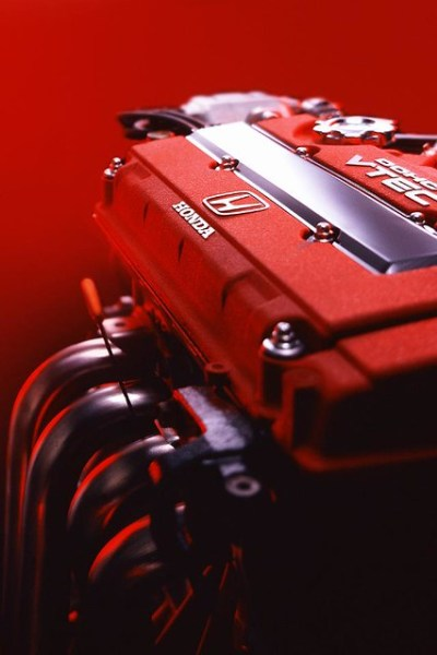 iPhone 4 wallpaper - Honda VTEC Type-R B18C | Flickr - Photo Sharing!
