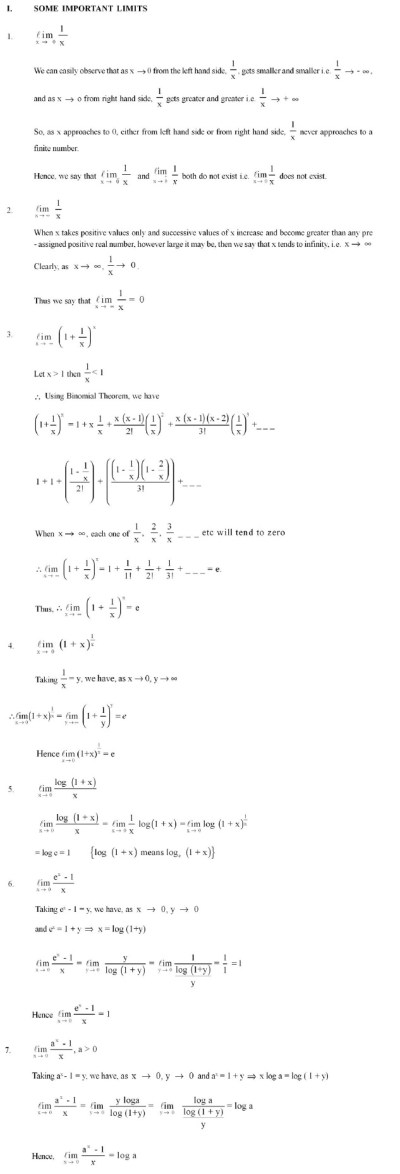 Maths Class 11 Ncert Solutions Limits And Derivatives - ncert class xi solution of chapter 13 ...