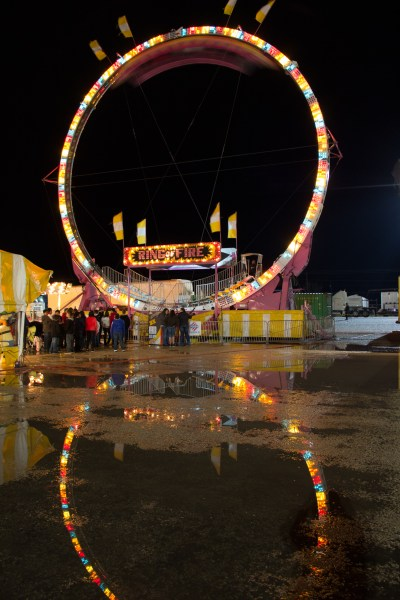 Carnival at Night - San Angelo Rodeo - jcutrer.com