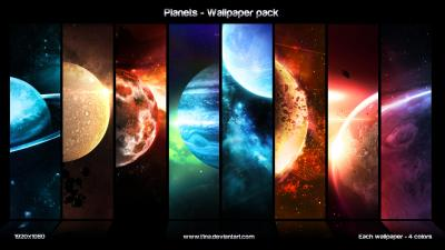 Planets - wallpaper pack by t1na on DeviantArt