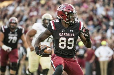 Bentley's 3 TDs lead Gamecocks to 31-10 win over Wofford - FederalNewsRadio.com