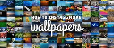 How to install more wallpaper packs on Fedora Workstation - Fedora Magazine