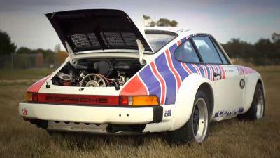 Walter Rohrl Rally Porsche on Targa Tasmania - Ferdinand
