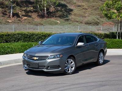 Kelley Blue Book Best Buys of 2016: Full-Size Car