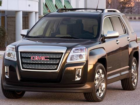 2010 GMC Terrain   Pricing  Ratings   Reviews   Kelley Blue Book 2010 gmc terrain