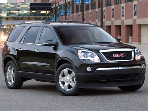2012 GMC Acadia   Pricing  Ratings   Reviews   Kelley Blue Book 2012 gmc acadia