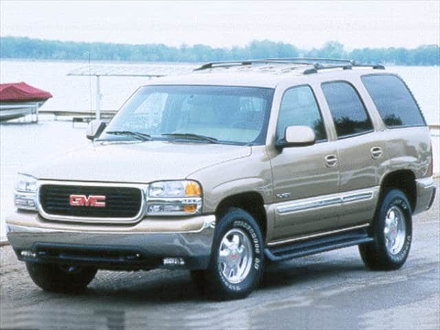 Most Popular SUVs of 2000   Kelley Blue Book Most Popular SUVs of 2000   2000 GMC Yukon