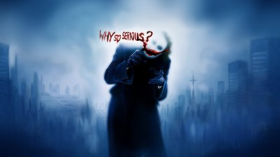 Joker Why So Serious Wallpapers in jpg format for free download