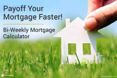 Bi-Weekly Mortgage Calculator - (Includes Optional Extra Payment & Amortization Schedule)