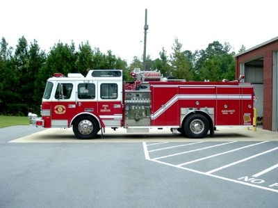 Fire Engines Photos - Heard County Fire & Emergency Services Engine 4