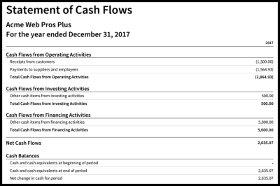 How to Create a Cash Flow Statement in Xero